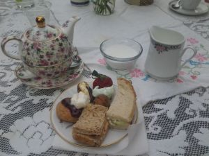 moments of serenity: our lovely Herbal High Tea